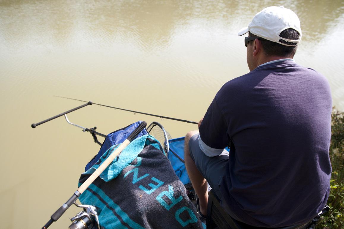 pêche au feeder en étang